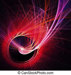 spiral rays