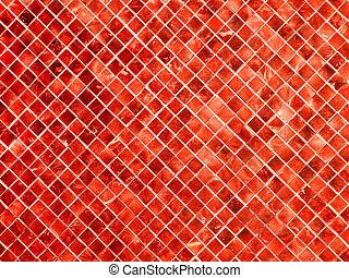 abstract red square background