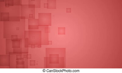 Abstract Red Squares.