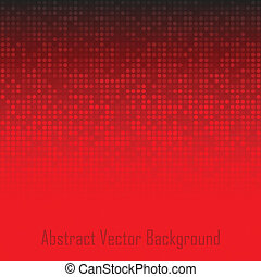 Abstract Red Technology Background, vector illustration for...