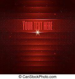 Abstract red technology background with space for your text