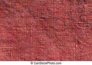 Abstract red textile texture.