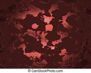 Abstract Red Textured Background