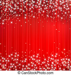 Abstract red vector background with