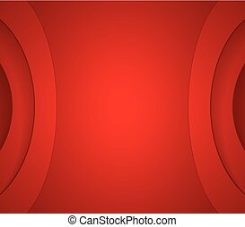 Abstract red wavy corporate background