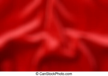 abstract red wavy texture, blurred background.