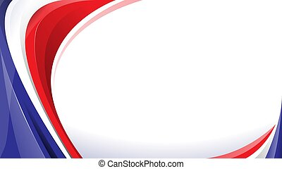 abstract red white blue background
