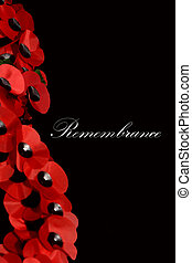 Remembrance Day - Abstract Remembrance Day Scene