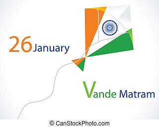 abstract republic day wallpaper vector illustration