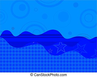 abstract retro background design