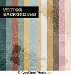 Abstract retro background with stripes