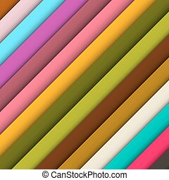 Abstract Retro Colorful Background