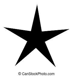 Star Shape - Abstract Retro Festival Decorative Star Shape...