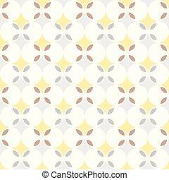 abstract retro geometric seamless background