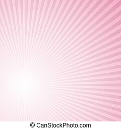 Abstract retro gradient sun rays background design
