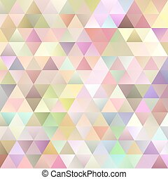 Abstract retro gradient triangle pattern background - vector graphic