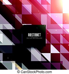 abstract retro pattern with light effect