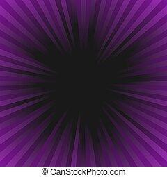 Abstract retro ray burst background - gradient vector graphic design