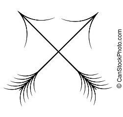 Cross Arrows
