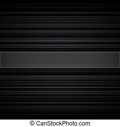 Abstract retro striped black and grey background. RGB EPS 10...