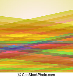 Abstract Retro Vector Striped Background, Pattern of...