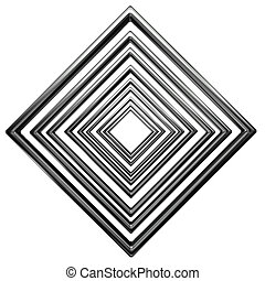 abstract rhombus pattern