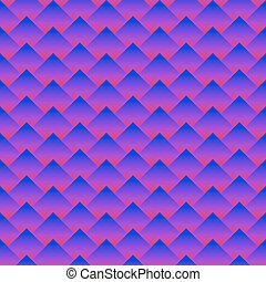 Abstract rhombus pattern