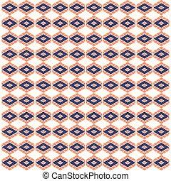 abstract rhombus shape pattern