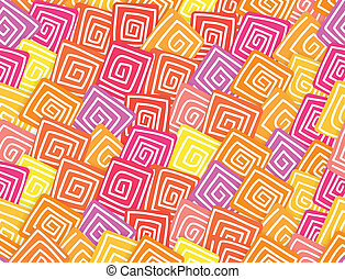 abstract rhombus waves