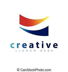 Abstract Road Logo icon vector template