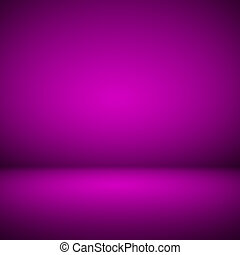 Abstract room interior pink background