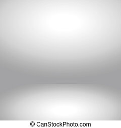 Abstract room interior white background