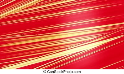 Abstract rotating lines in red