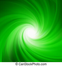 abstract., rotazione, verde, eps, 8