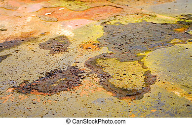 Abstract Rust Background