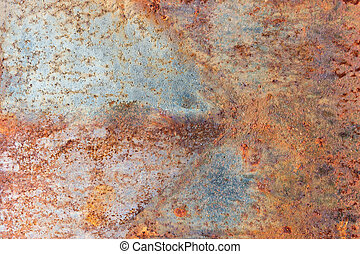 Abstract rusty metal texture