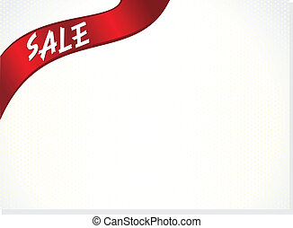 abstract sale sticker with paper