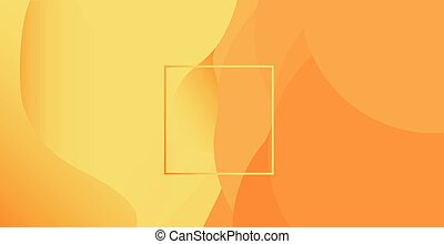 Abstract sandy background with rectangle in the middle. Abstract vector illustration, horizontal.