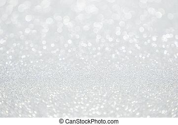 abstract, schitteren, zilver, achtergrond, kerstmis