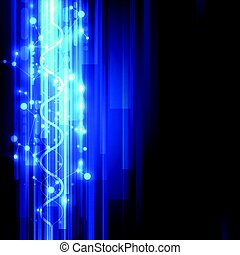 Abstract science technology concept background. vector illustration