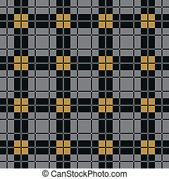 Abstract Scottish Plaid - Background of Seamless Plaid...