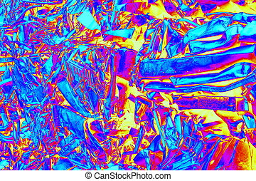 abstract scrap metal