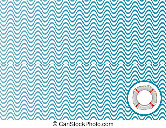 Abstract sea background. Vector illustration