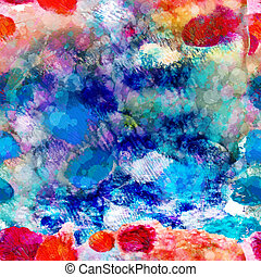 Abstract sea seamless pattern. Vector, EPS 10