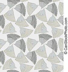 Abstract sea shell gray