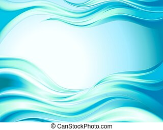 Abstract sea wave background