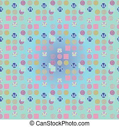 Abstract seamles pattern