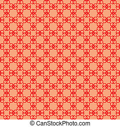 abstract, seamless, achtergrond, rood