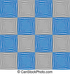 abstract, seamless, achtergrond., vector