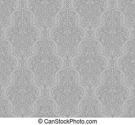 Abstract seamless arabic pattern
